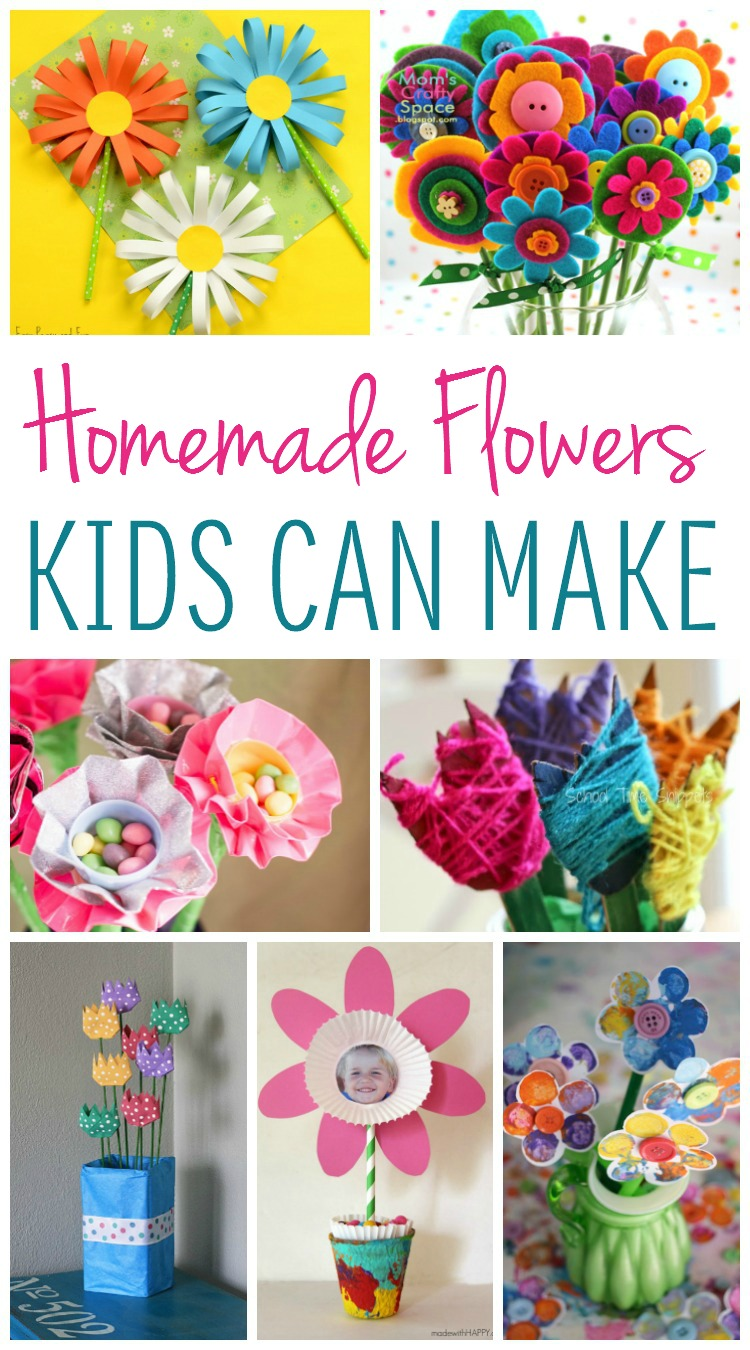 Homemade Flowers 2